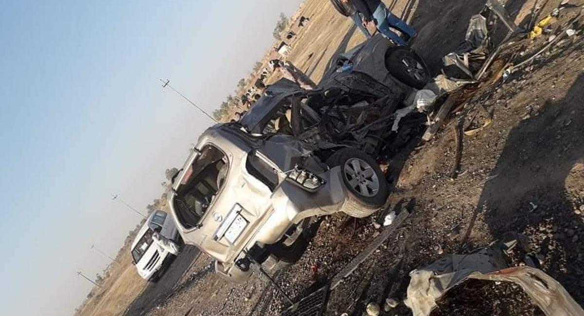 مصرع 5 جنود بحادث سير قرب مصفى بيجي