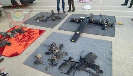 بالصور.. الطائرات المسيرة التي استهدفت اربيل وبيان رسمي يكشف تفاصيل الهجوم